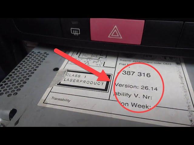 Fiat 26.14 Versiyon teybe Aux montajı (blog.yakupulutas.com/aux)