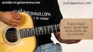 Acordes No Me Compares (alejandro Sanz) en guitarra