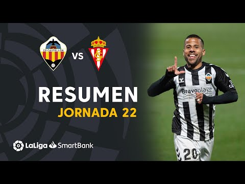 Castellon Gijon Goals And Highlights