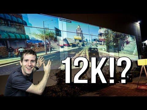 """12K"" Triple Projector Gaming Setup!"