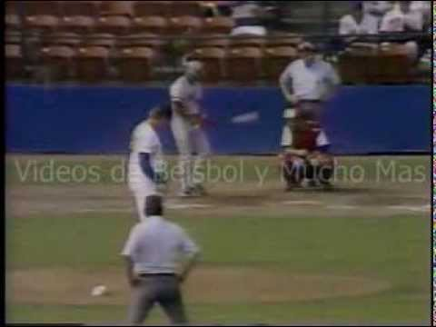 1990 Good Will Games Puerto Rico vs Canada Beisbol