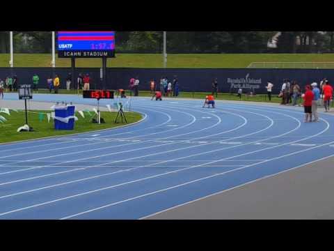 4×1 Novas girls relay, Icahn Stadium.