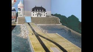 Modellbahn Bau der Anlage Dagebüll in voller Länge Teil 276
