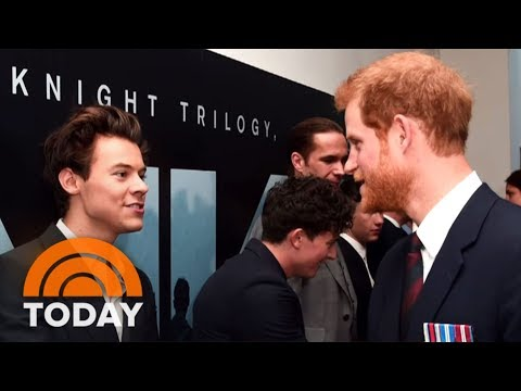 When Prince Harry Met Harry Styles | TODAY