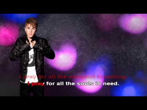 Pray  Lyric - Justin Bieber