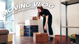 empty apartment tour + moving vlog