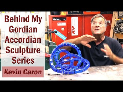 The Story Behind ... My Gordian Accordian Sculpture Series - Kevin Caron