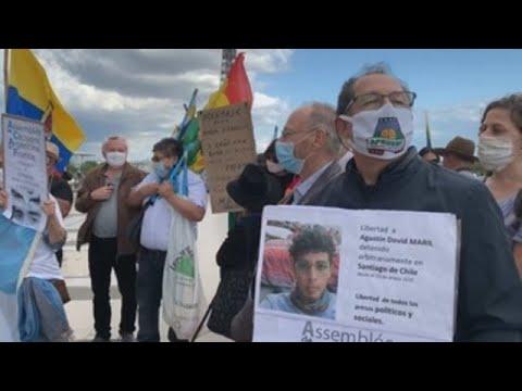 Argentinos protestaron contra Macri en Francia