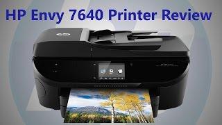 HP 7640 Printer Review and Setup