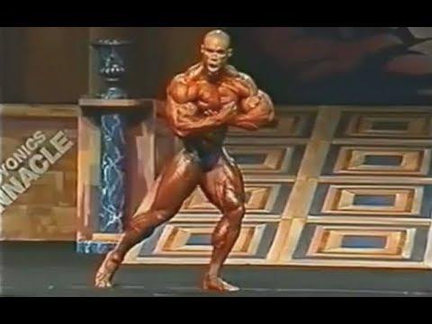 Kevin Levrone - Mr. Olympia 1998 Posing