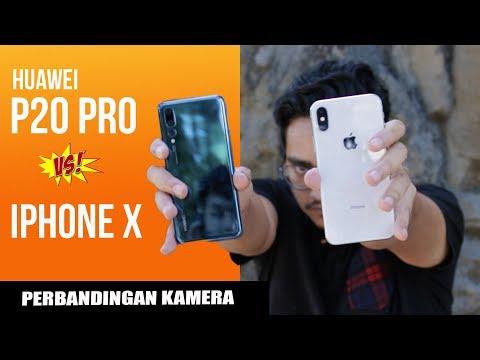 Kamera Huawei P20 Pro VS iPhone X