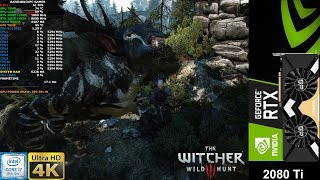 The Witcher 3 Maximum Settings 4K | RTX 2080 Ti | i7 8700K 5.3GHz