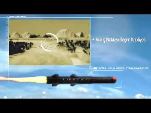ROKETSAN- UMTAS Uzun Menzilli Tanksavar Füzesi - UMTAS Long Range Anti-Tank Missile System