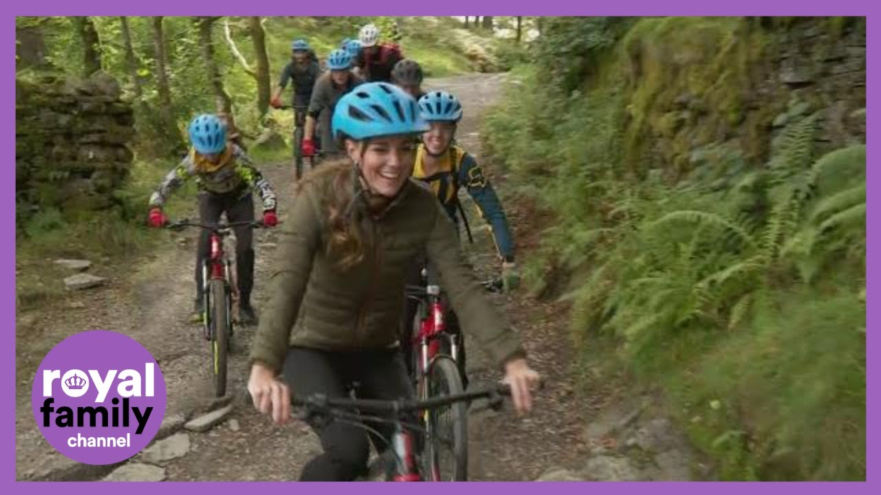 Kate Middleton Gets On Her Bike With the Cadets