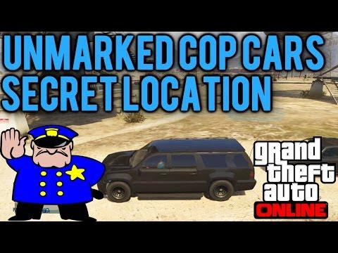 GTA 5 Online - How to Find the Undercover FIB Buffalo ...