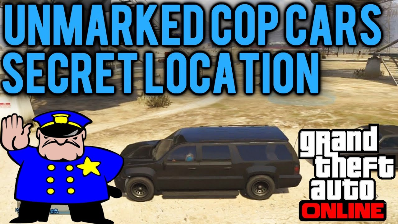 gta 5 online where to find rare fib unmarked police cars