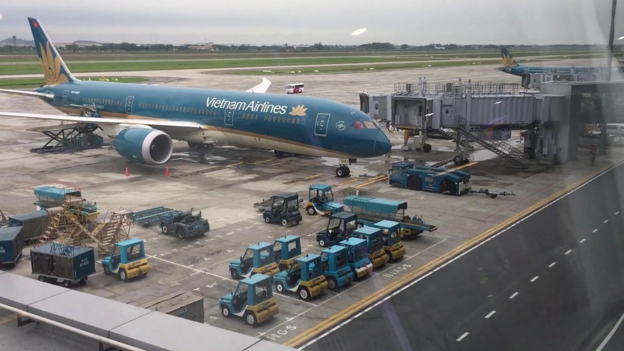 越南河內機場 - YouTube
