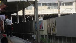 [1016fの日‼️入線フルコーラス‼️]名鉄1200系リニューアル車 1016f(快特豊橋行き)金山駅  入線フルコース‼️