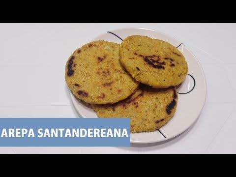 Arepa de Ma�z Pelado / Arepa Santandereana
