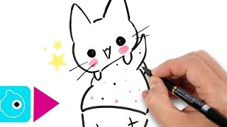 Comment dessiner une glace kawaii dessin facile antidiary - Dessiner un chat facilement ...