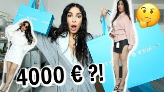 RIHANNA QUE VAUT TA MARQUE DE FRINGUES FENTY ? (4000€ d'essayages !)