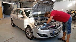 Opel Astra H   Быстрый ремонт кондиционера!