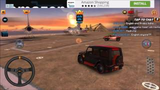 Black Panther Mercedes G Class Drift - Dubai Drift 2