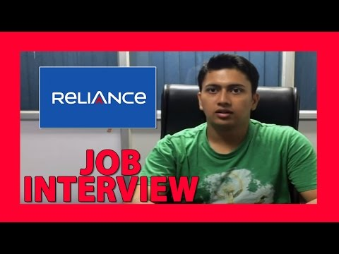 Reliance Interview- Interview Experience, Suggestions And Tips