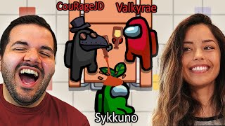 Valkyrae and I MARINATE Sykkuno as Impostors...