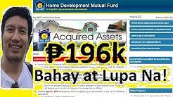 PAANO KUMUHA NG MAS MURANG BAHAY AT LUPA | PAG IBIG HOUSING LOAN | ACQUIRED ASSET | SALE HOUSE & LOT