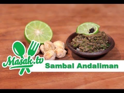 Resep Sambal Andaliman