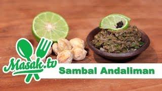 Sambal Andaliman | Sambal #021