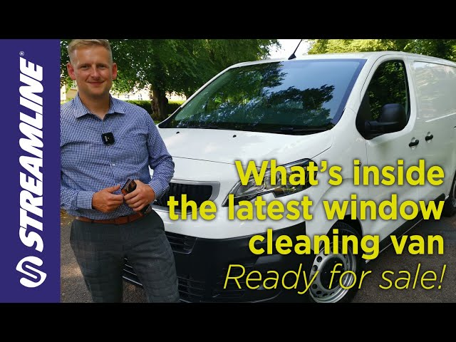 What's inside the latest window cleaning van?