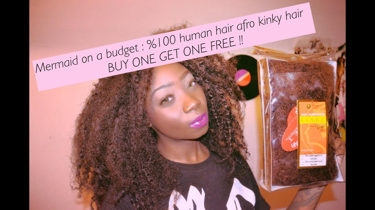 Mermaid On A Budget 100 Human Hair For Loc Extensions Buy One Get