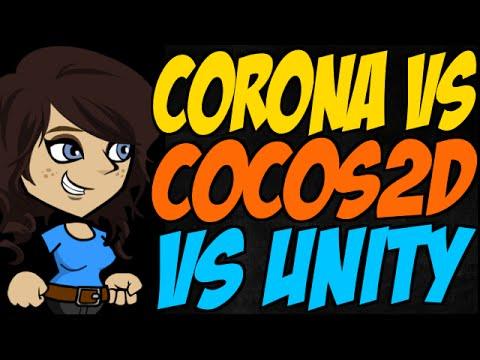 Corona Vs Cocos2d Vs Unity
