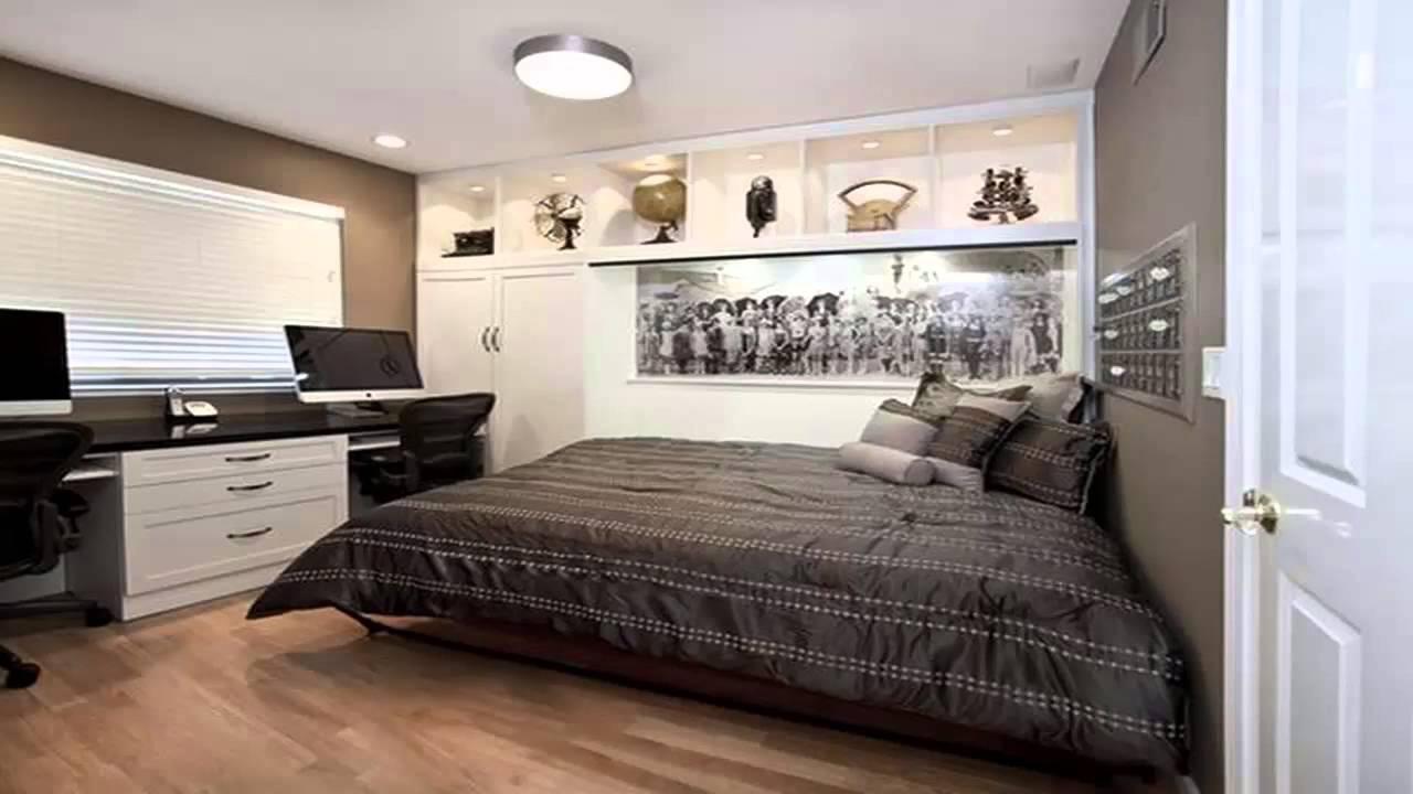 استغلال المساحات الضيقة في غرف النوم Exploitation of narrow spaces