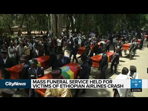 Mass funeral held for victims of Ethiopian Airlines crash Mp3