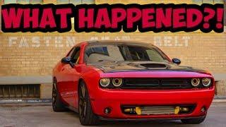 The Ripped Supercharged V6 Broke......kinda.....