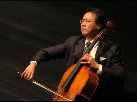 Inspired By Bach - Yo Yo Ma Plays The Prelude From Bach´s Cello Suite No  1