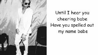 Justin Bieber - PYD Ft Kelly Lyrics video Video