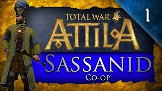 Total War: Attila - Co-Op Campaign - w/ LegendofTotalWar Ep. 1