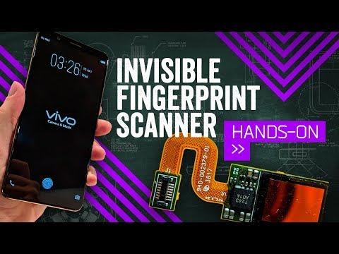This Phone's Fingerprint Sensor ... Is Its Display