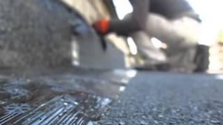 Примыкание кровли к стене(В этом видео показано как делается примыкание кровли к стене на крыши балкона последнего этажа. Подробная..., 2015-07-07T08:08:56.000Z)
