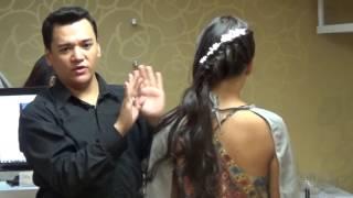 Accesorios para Peinados de Novia  Bodas Glitz  Video 24