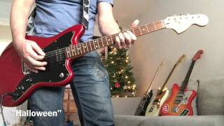 SONIC YOUTH riffs - Squier JAGMASTER!!! Fender Jaguar meets Fender Jazzmaster thumbnail