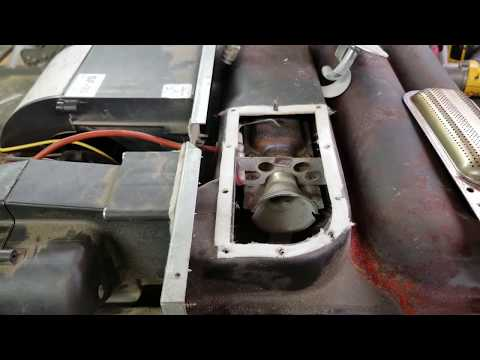 Burner Assembly Electrode Alignment On A Suburban Sf 35 Rv Furnace Youtube