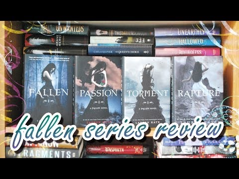 Series Book Review #2:  FALLEN Series By Lauren Kate (No Spoilers)
