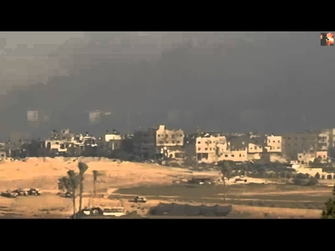 Gaza-Israel War. Israeli Air Strikes and Rocket Hits on Gaza