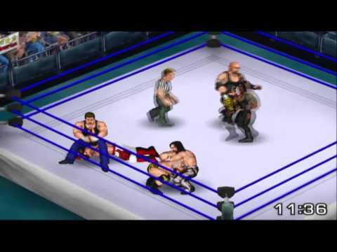 Fire Pro Wrestling Returns - The Club vs. The Shield