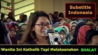 SUBS INDO ! Wanita Ini Katholik Tapi Melaksanakan Sholat || Dr. Zakir Naik UMY Yogya